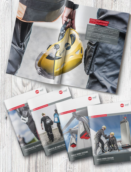 Corporate Design, Logo, Broschüren, Visitenkarten